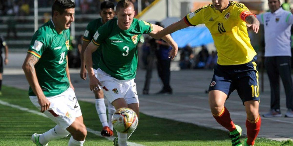 Bolivia no tendrá a una de sus grandes figuras para jugar ante Chile