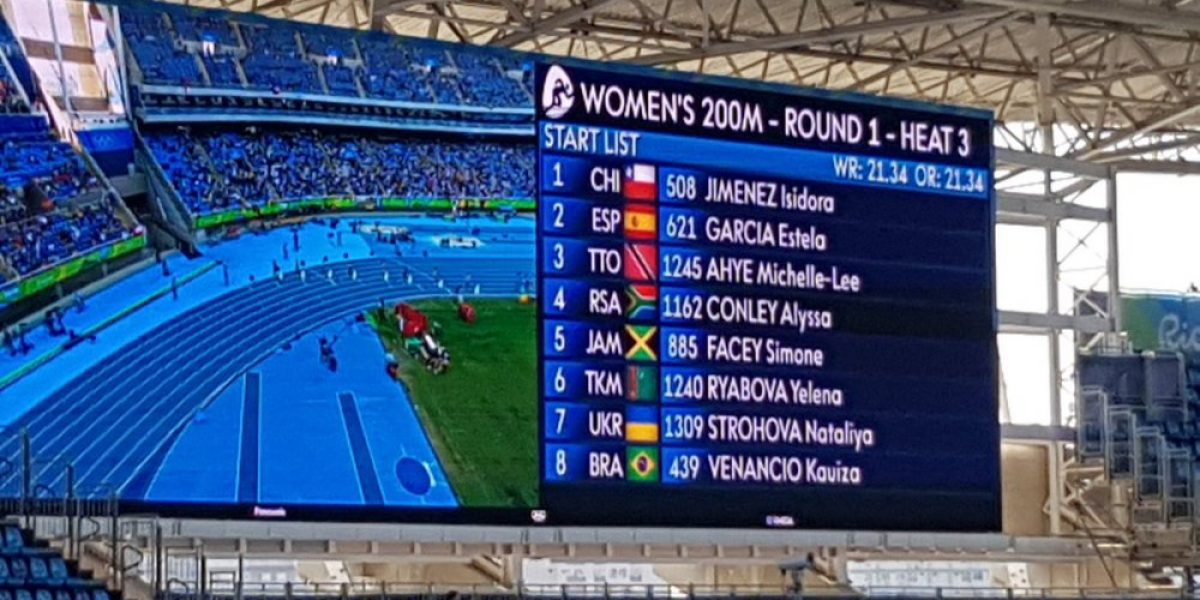 Isidora Jiménez no pudo avanzar a semis en su debut olímpico en Río