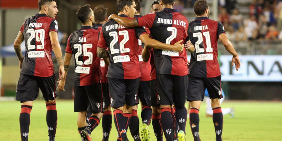 Mauricio Isla hizo su estreno oficial en goleada del Cagliari en Copa Italia