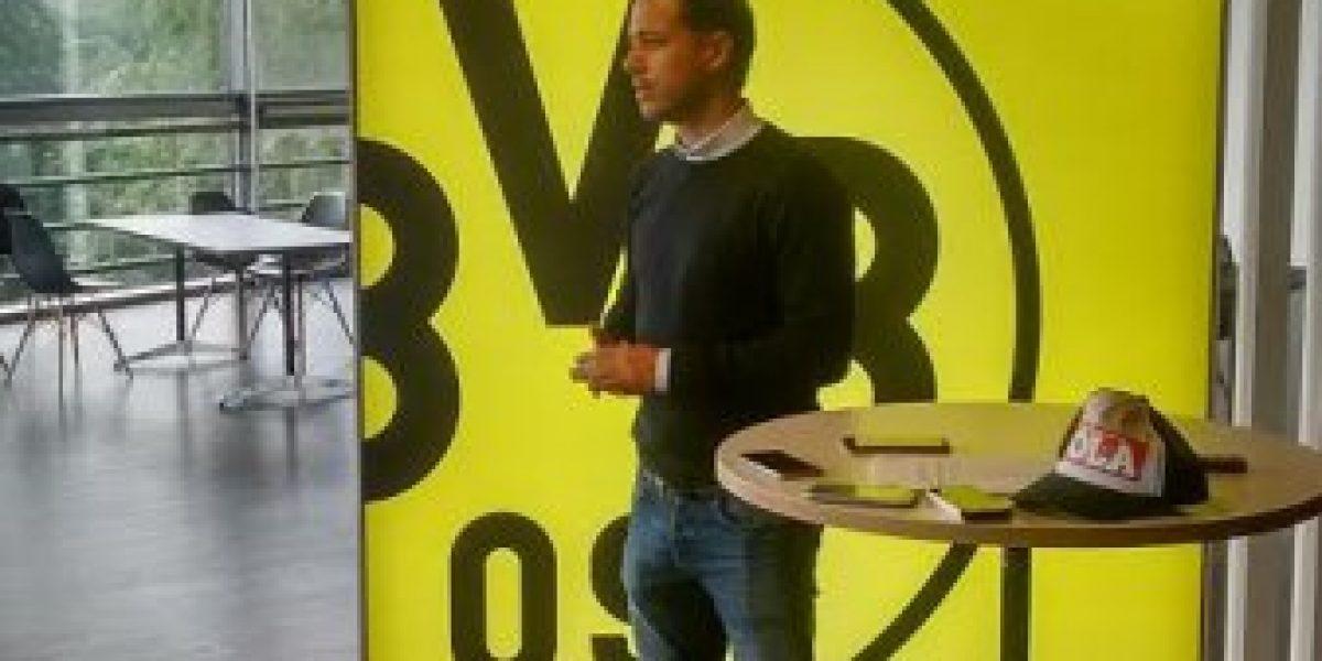 Ídolo del Dortmund recordó fallido paso de Leo Rodríguez y a la