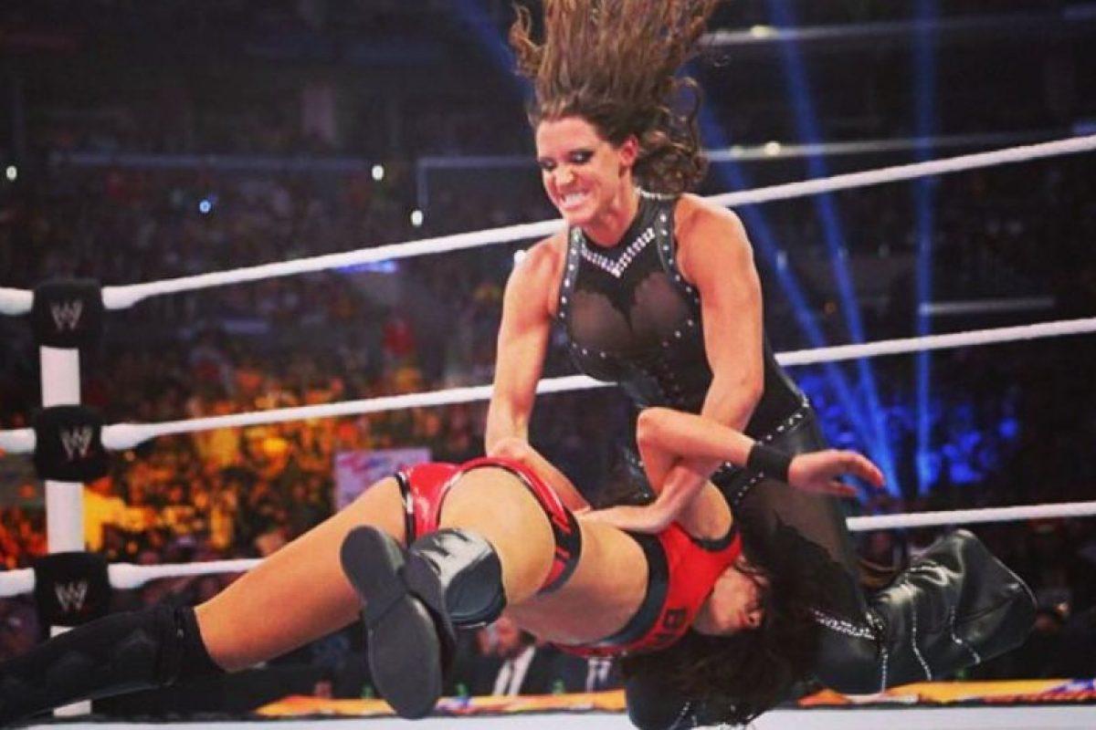 """Es la hija del """"Jefe"""" Vince McMahon Foto:WWE. Imagen Por:"""