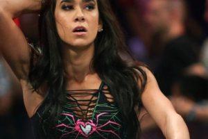 Es pareja del exluchador de WWE, CM Punk Foto:WWE. Imagen Por: