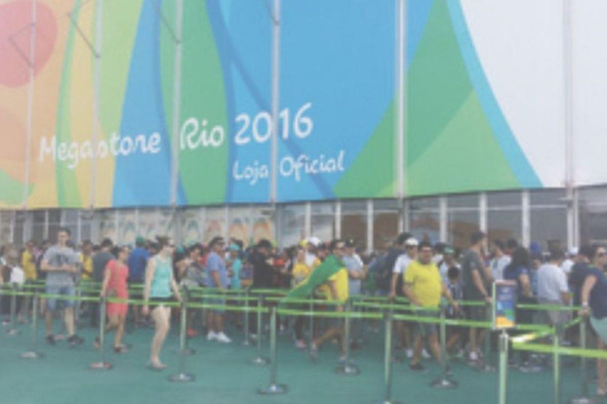 En el Parque Olímpico tiene que esperar hasta para comprar recuerdos Foto:Metro Río. Imagen Por:
