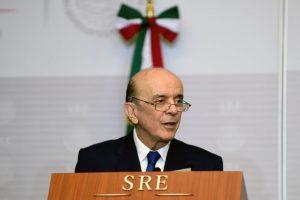 José Serra, canciller de Brasil. Foto:AFP. Imagen Por: