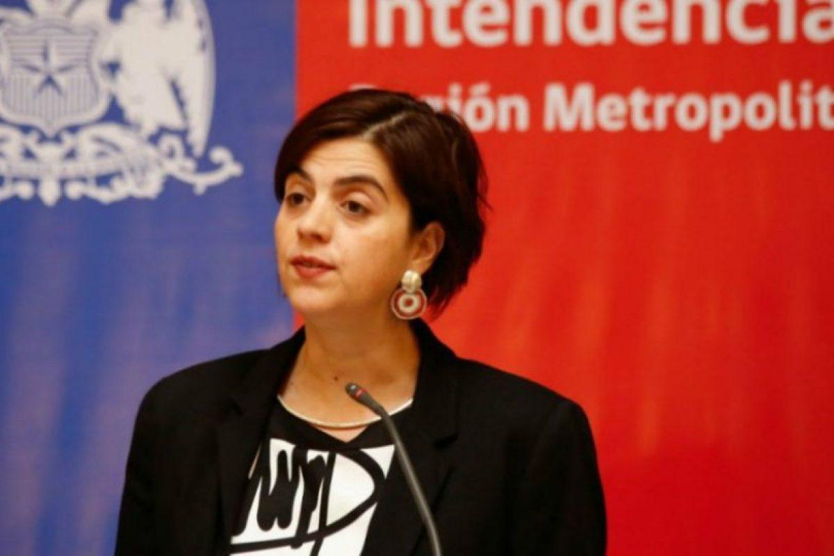 La ministra del Sernam Claudia Pascual Foto:Agencia UNO. Imagen Por: