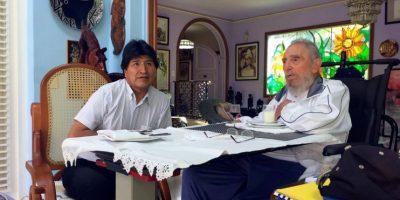 """Evo Morales se reúne en La Habana con un Fidel Castro """"lúcido como siempre"""""""