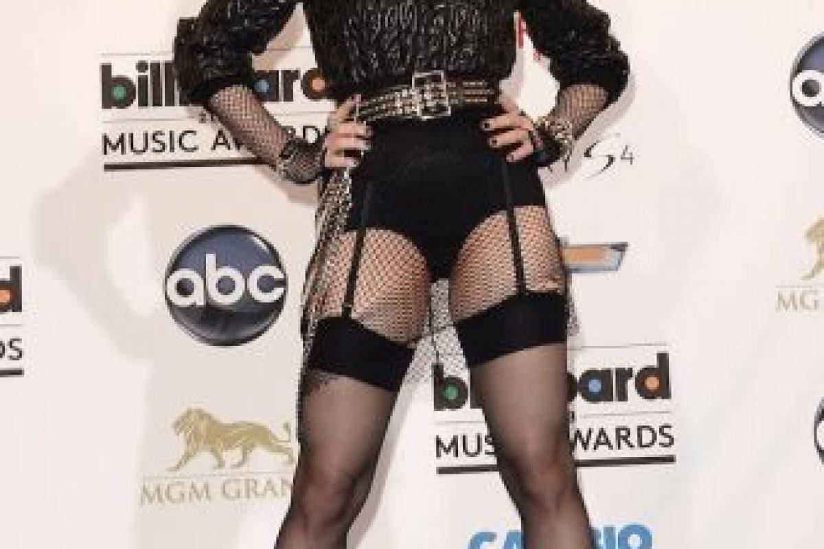 """Y la revista """"People"""" dijo: """"luce como Marilyn Monroe y baila como Elvis"""". Foto:Getty Images. Imagen Por:"""