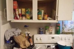 Describieron que había olor a orina de gato, basura y productos en descomposición Foto:Franklin Ohio Police Department. Imagen Por: