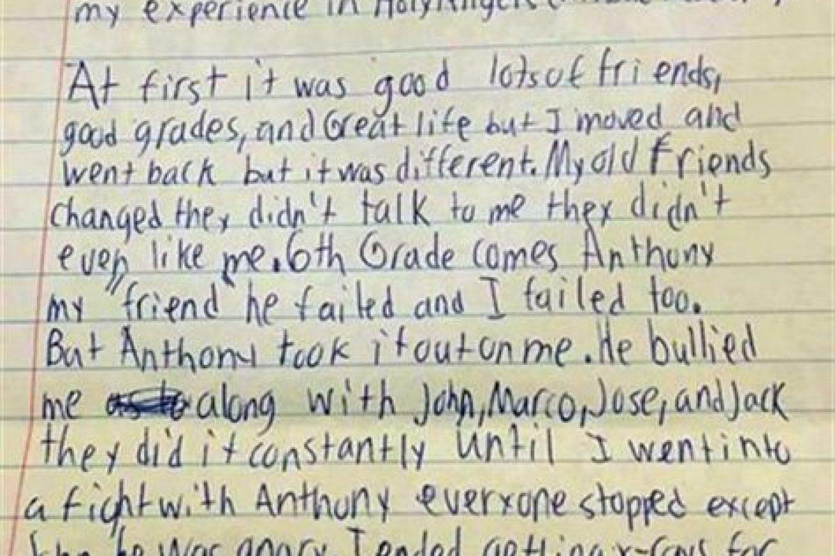 Esta fue la carta que descubrió la familia Foto:Facebook.com/daniel.fitzpatrick.7. Imagen Por: