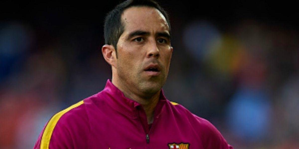 La postura culé: No venderán a Claudio Bravo hasta que firmen contrato con un reemplazante