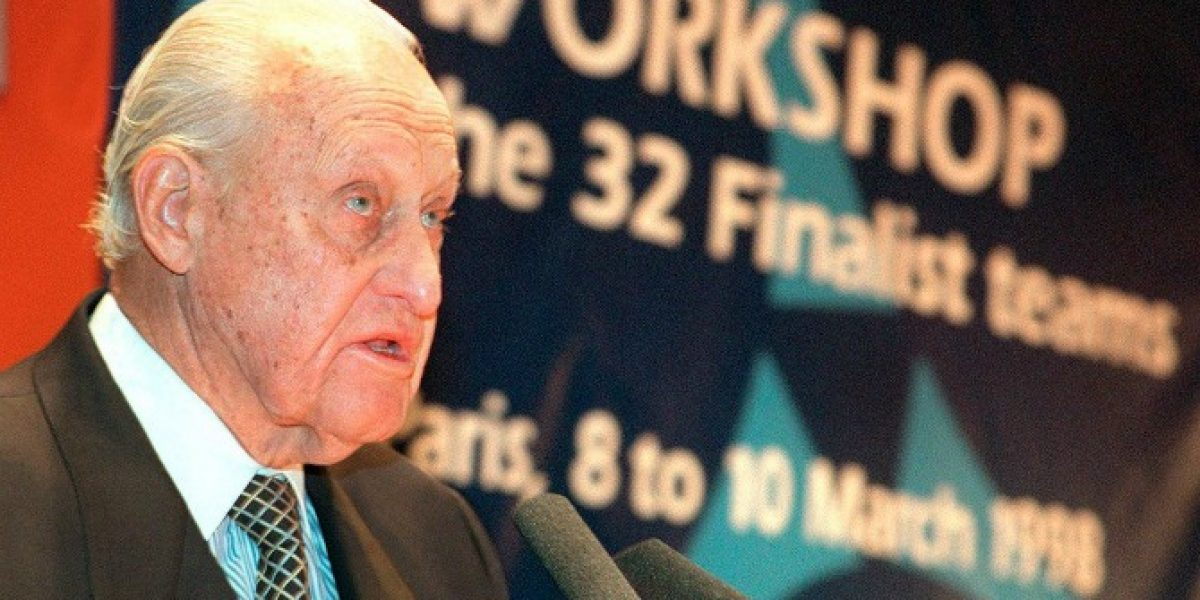 Falleció Joao Havelange, ex presidente de FIFA