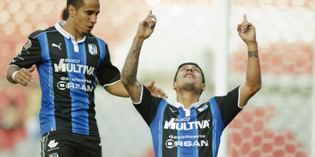 Se destapó: Patricio Rubio convirtió su primer gol tras su regreso a Querétaro