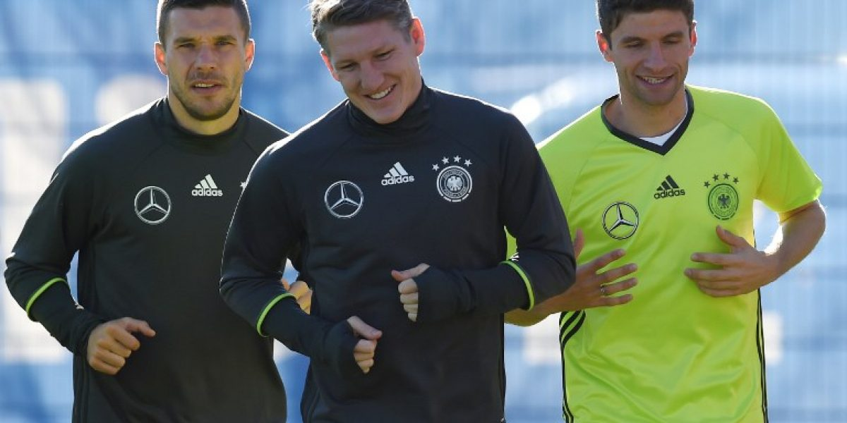 Schweinsteiger y Podolski tendrán partido de despedida en la selección de Alemania