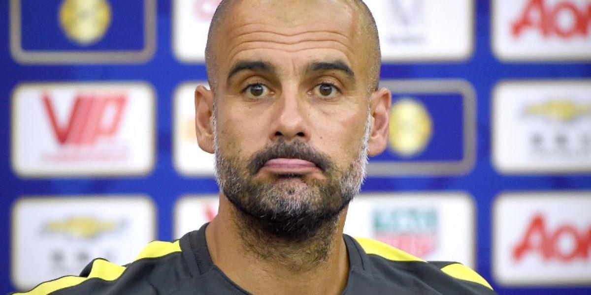Por ahora: Pep Guardiola esquiva el tema Claudio Bravo en el City
