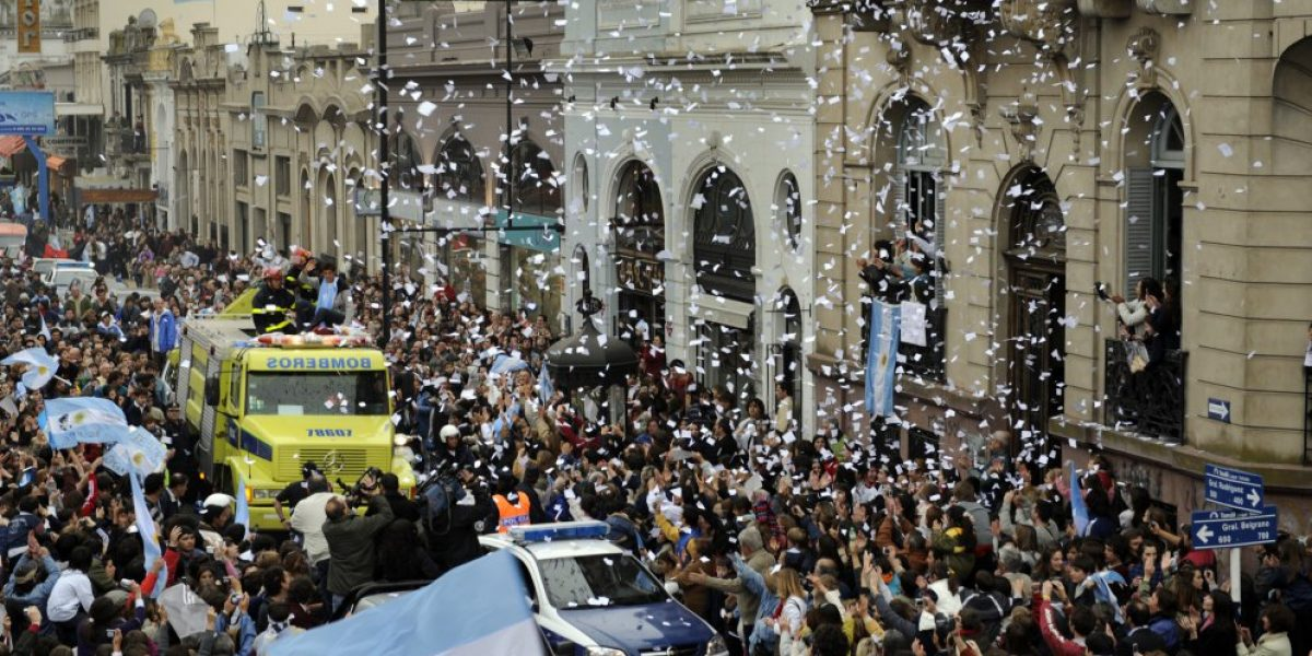 Como un héroe: Juan Martín del Potro fue recibido por una gran multitud en Argentina