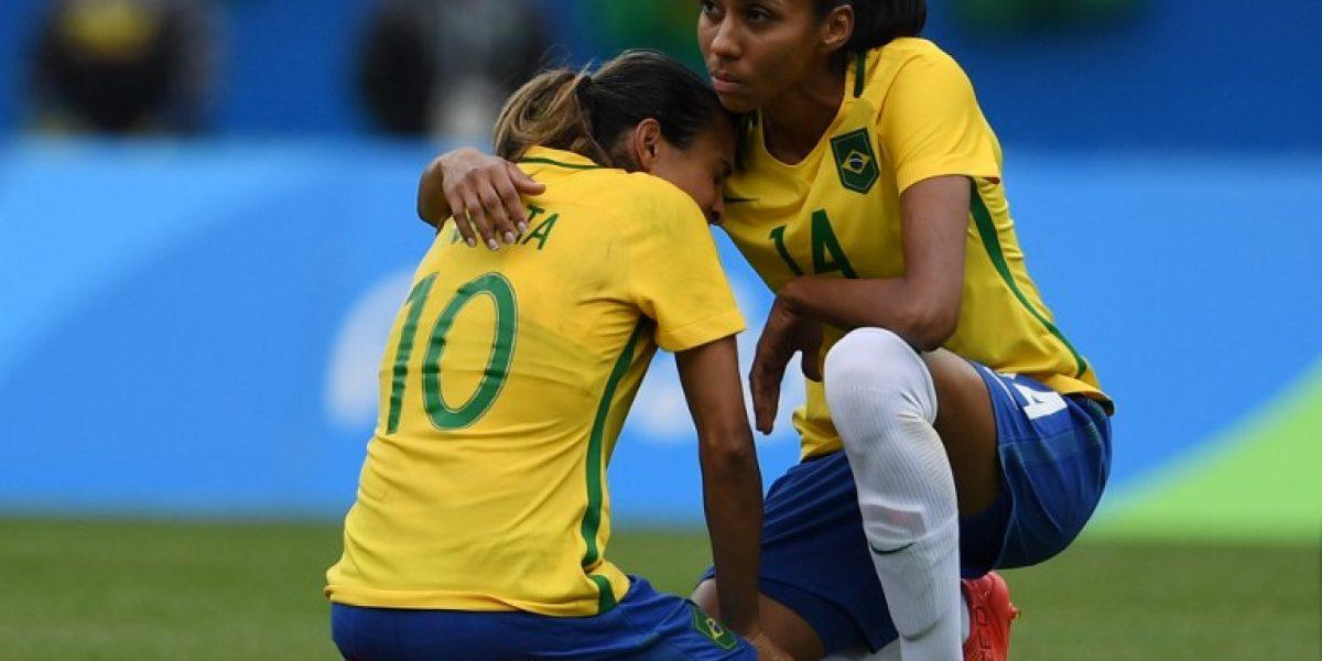 Suecia concretó un Maracanazo al eliminar a Brasil del fútbol femenino de Río