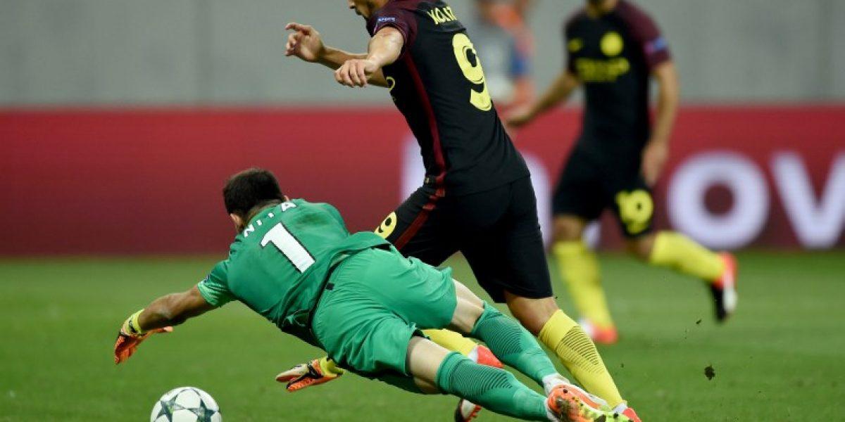 Atención Bravo: El City despedazó a Steaua y acaricia la clasificación en Champions