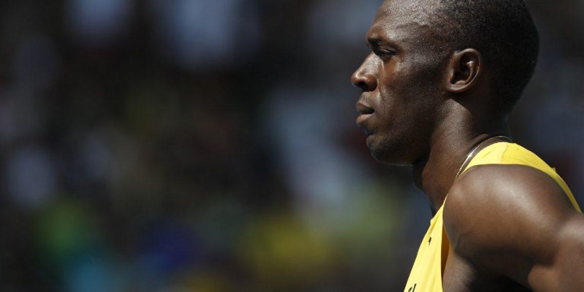 Usain Bolt clasificó trotando a las semifinales de los 200 metros en Río