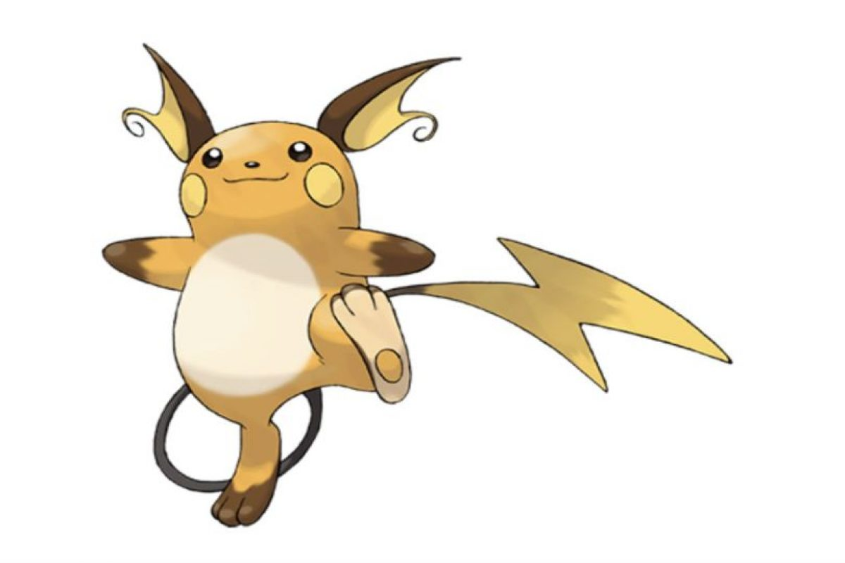 Raichu Foto:Pokémon. Imagen Por: