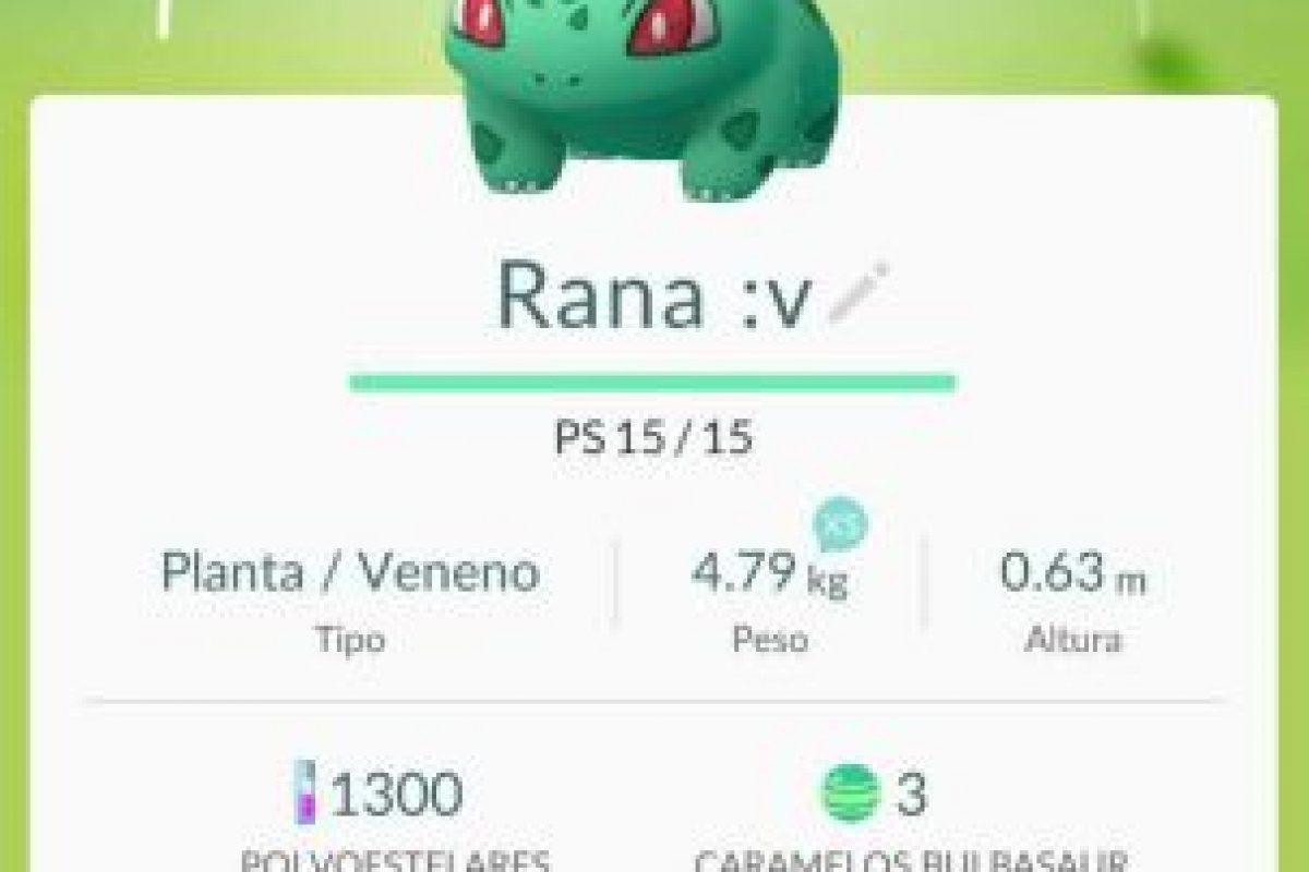 Cambien el nombre. Foto:Pokémon Go. Imagen Por: