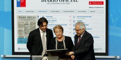 Presidenta Bachelet lanza Diario Oficial en versión electrónica
