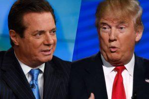 Paul Manafort, el presidente de la campaña, y Donald Trump. Foto:AFP. Imagen Por:
