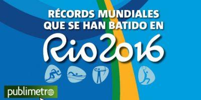 Infografía: récords mundiales que se han batido en Río 2016
