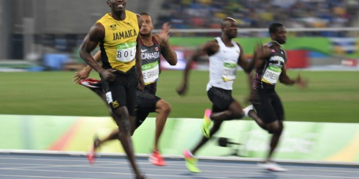 Usain Bolt no falla y va por el oro en los 200 metros en Río 2016