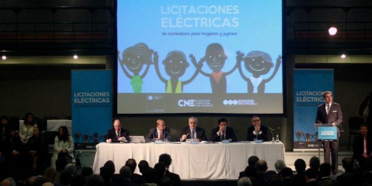 Chile obtiene precio histórico más bajo en licitación de suministro eléctrico