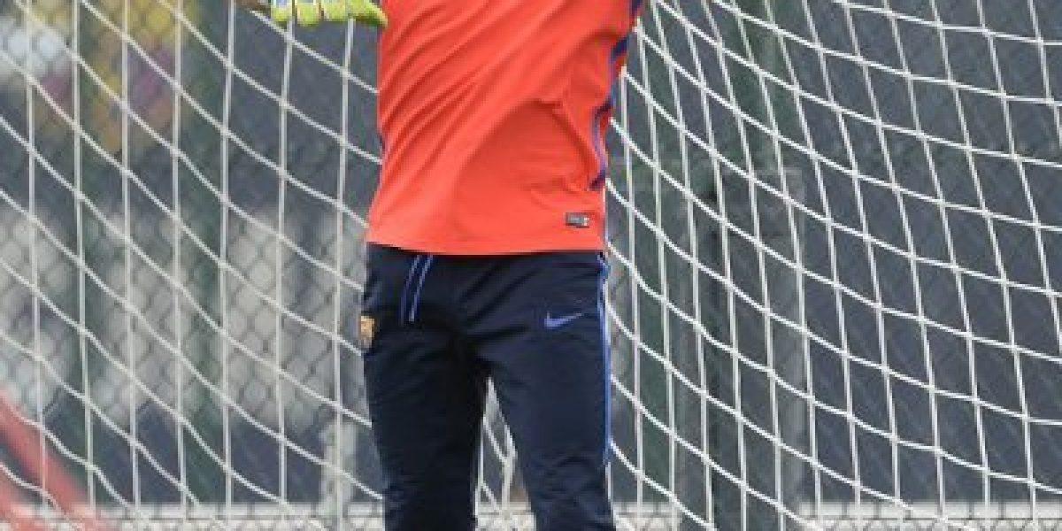 TV de Cataluña aseguró que Bravo se irá al City tras la Supercopa ante Sevilla