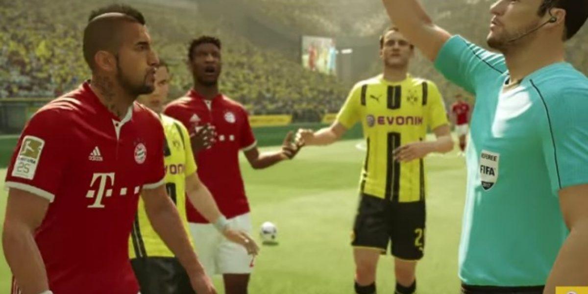 Arturo Vidal vuelve a ser protagonista en avance del videojuego FIFA 17