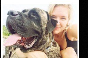 Lauren Fern supo que su perrita Gizelle tenía un cáncer terminal. Foto:Instagram. Imagen Por: