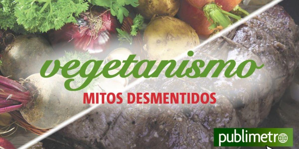 Infografía: vegetanismo, mitos desmentidos