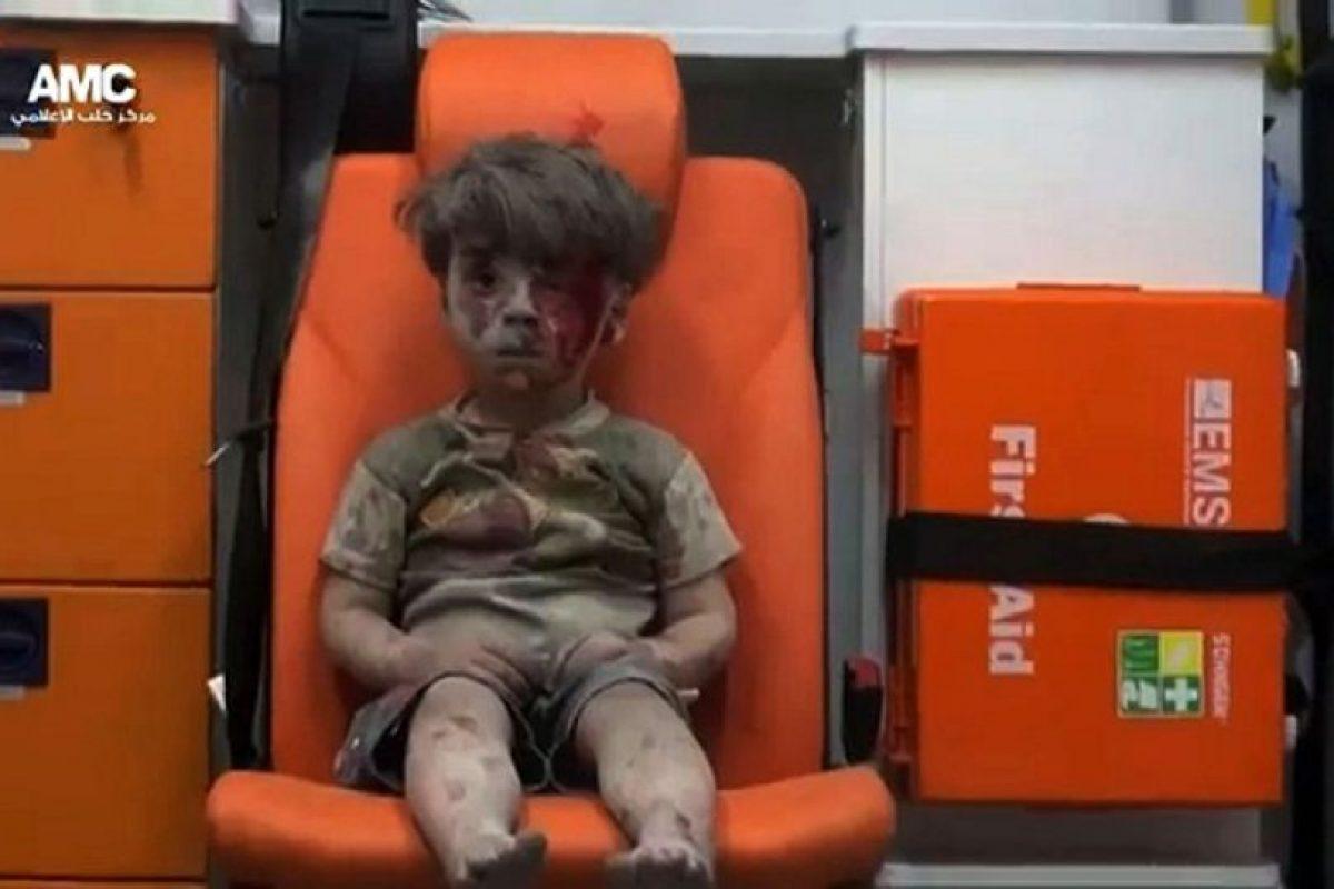 Resultó herido en un bombarde en Aleppo Foto:AFP. Imagen Por: