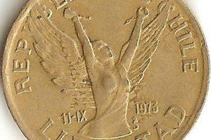 Moneda de 10 pesos especial por 11 de septiembre Foto:Reproducción. Imagen Por:
