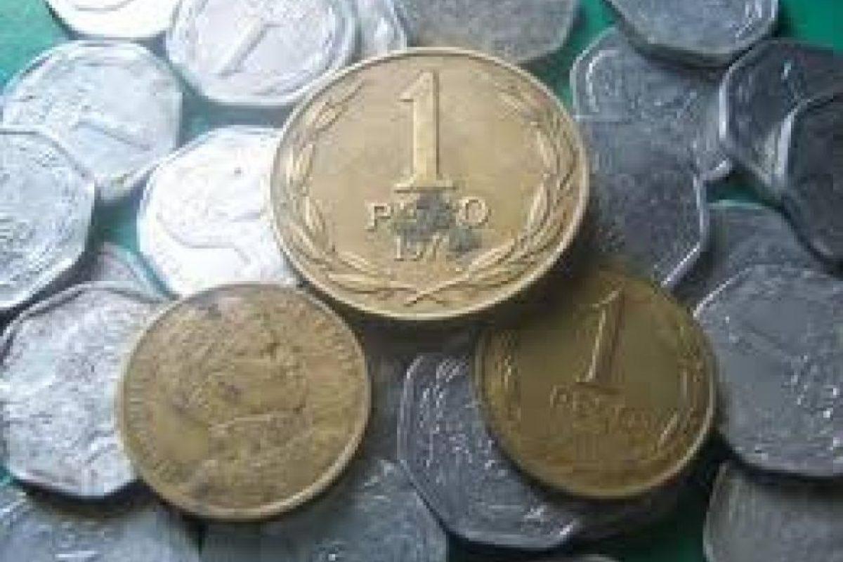 Moneda de 1 peso Foto:Reproducción. Imagen Por: