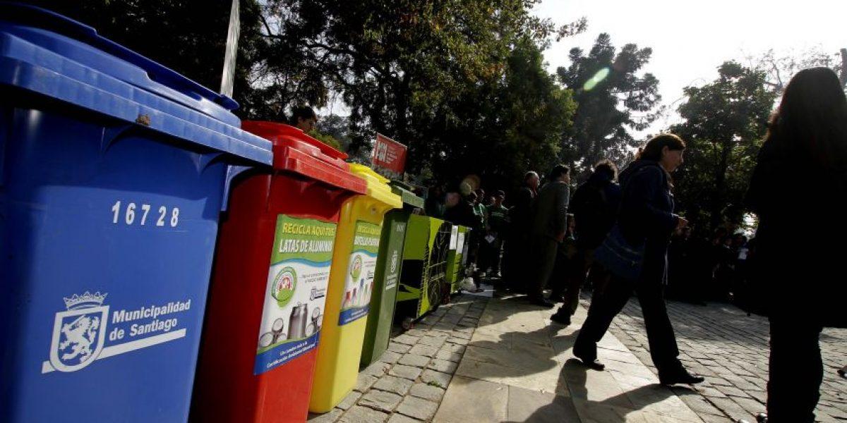 Destinan $5 mil millones para plan de reciclaje en la Región Metropolitana