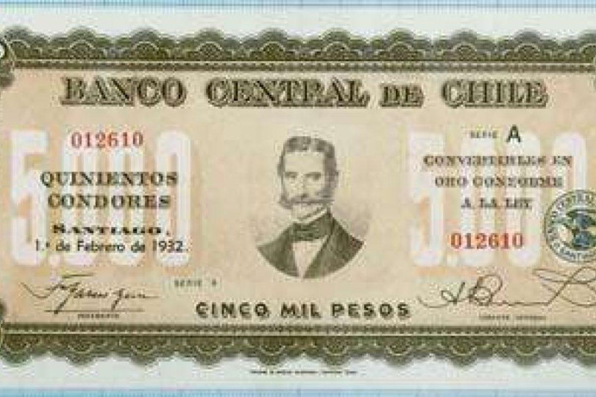 Quinientos cóndores (5 mil pesos) Foto:Reproducción. Imagen Por:
