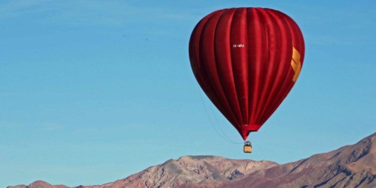 Paseos en globos aerostáticos: el nuevo atractivo turístico en San Pedro de Atacama