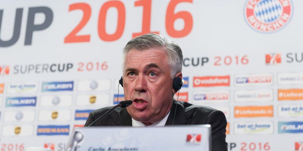 Ancelotti fija en Vidal la esperanza de la triple corona: