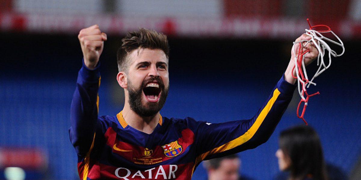 Los descubrieron: Piqué y Alba apostaron 20 euros a que Bravo atajaba el penal ante Sevilla