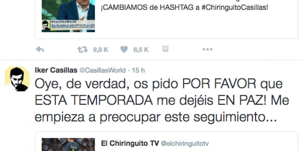 Iker Casillas explota contra programa de TV español que se burlaba de sus errores