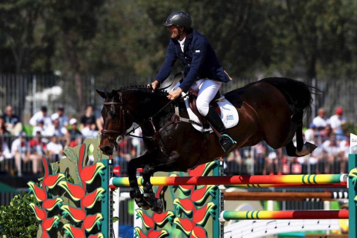Néstor Nielsen llegó a Río 2016 gracias a su padre Foto:Getty Images. Imagen Por:
