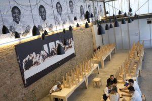 """Este es el """"Refettorio Gastromotiva"""", su comedor en Rio de Janeiro Foto:AP. Imagen Por:"""