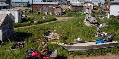 Habitantes de isla en Alaska votan por trasladarse al continente por efectos del cambio climático