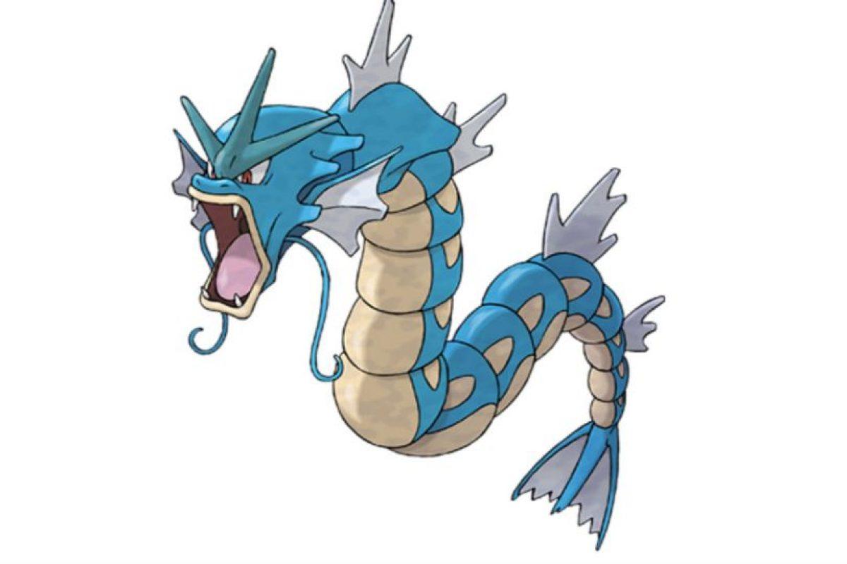 O Gyarados. Foto:Pokémon. Imagen Por: