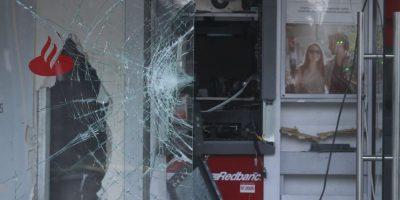 Desconocidos roban 20 millones desde cajero automático en Melipilla