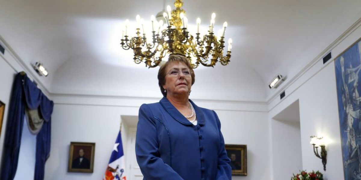 Presidenta Bachelet tras CEP: Vamos a seguir trabajando para cumplir con los compromisos
