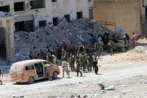 Las Fuerzas Conjuntas se toman Manbij. Foto:Efe. Imagen Por: