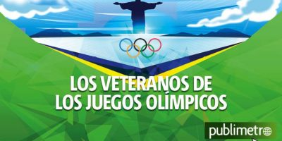 Infografía: los veteranos de los Juegos Olímpicos